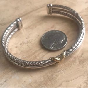 David Yurman bracelet bangle cable